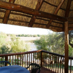 Campsite Lodges Balcony overlooking the Orange River | Kheis Riverside Lodge | Groblershoop Accommodation