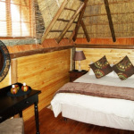 Campsite Lodges Bedroom | Kheis Riverside Lodge | Groblershoop Accommodation